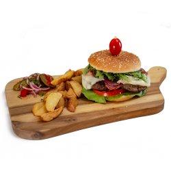 40% Reducere: Meniu delicios Burger vita image