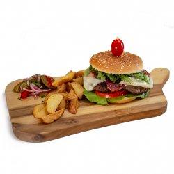 Meniu delicios burger pui image