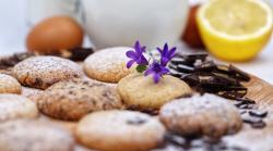 Soft Cookies cu lamaie, chocolate chips, lavandă image