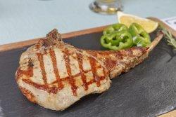 Cotlet de porc cu os - la grătar image