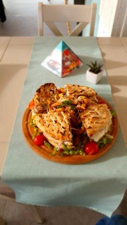 Toast gyros de pui/porc/mixt image