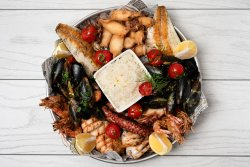 Mix fructe de mare și pește  (1500/2-3persoane) image