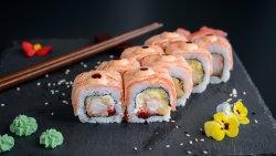 Salmon grill masago image