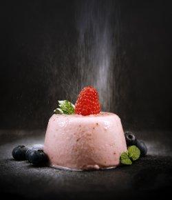 Panna cotta de căpșuni image