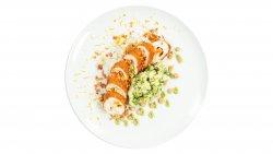 Ruladă de pui cu legume și mozzarella image