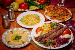 Kebab din carne de vită și miel