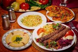 Kebab picant cu vită și miel