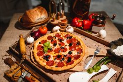 Pizza Vulcano image