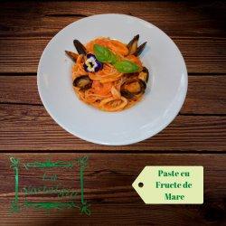 Spaghetti cu fructe de mare image