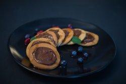 Chocolate Pancakes cu sirop de artar image