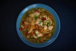 Supa de pasare cu taietei image