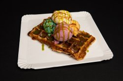 Waffle Glace et Pistaches image