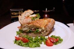 Ciabatta sandwich ton image