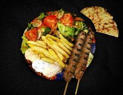 Merida kalamaki kebab