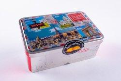 Asortiment de biscuiti palets/galettes Carte postala Paris  300g image