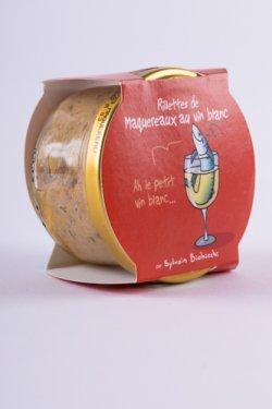 Rillettes de maquereaux au vin blanc (macrou cu vin alb) 90g image