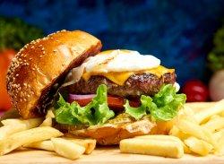 Burger Egg image