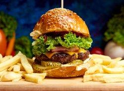 Burger Cheese And Bacon image