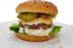 Best No Meat Burger image