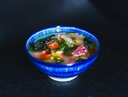 Supă Miso cu fructe de mare image