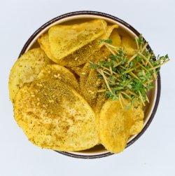 Cartofi chips cu zatar image