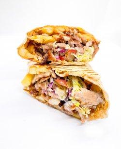 Shawarma shaorma vita mica image