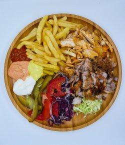 Shawarma shaorma mix farfurie image