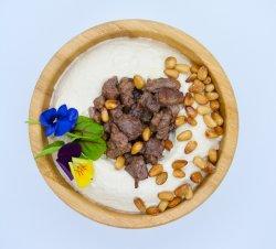 Humus hummus cu carne image