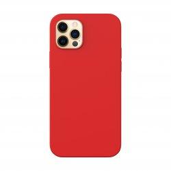 Capac protecție spate Silicon Slim Pentru Iphone 12 Pro Max - Rosu