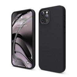 Capac protecție spate Silicon Soft Pentru Iphone 12/12 Pro - Negru