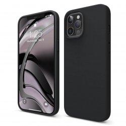 Capac protecție spate Silicon Soft Pentru Iphone 12 Pro Max - Negru
