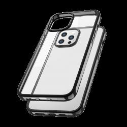 Capac protecție spate Tpu Electro Pentru Iphone 12/12 Pro - Negru image