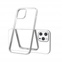 Capac protecție spate Tpu Electro Pentru Iphone 12 Pro Max - Argintiu