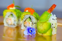 Dragon Shrimp Sushi Roll image