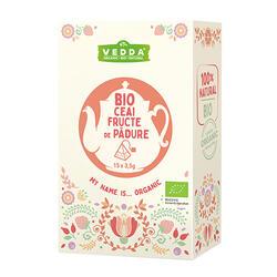 Vedda Ceai Bio Fructe De Pădure 52,5 G