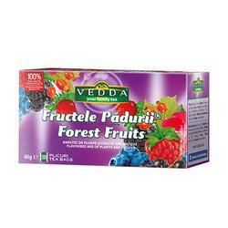 Vedda Ceai Fructele Padurii 20X2G