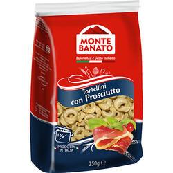 Monte Banato Tortellini Prosciutto 250 g image