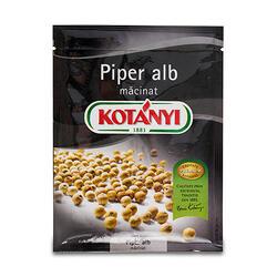 Kotanyi Piper Alb Măcinat Plic 17 g