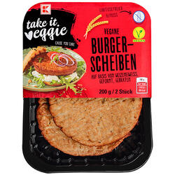 K-Veggie Burger Vegetarian Felii  200 g image