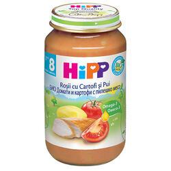 Hipp Bio Meniu Copii 8L Pui,Roșii&Cart 220 g image