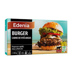Edenia Burger Vită Angus 454 g image