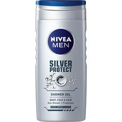 Nivea Men Gel Duș Silver Protect 500 ml image