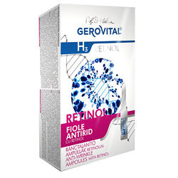 Gerovital H3 Retinol Fiole Antirid10X2Ml