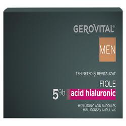 Gerovital Men Fiole Ac Hial. 5% 10X2Ml