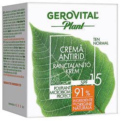 Gerovital Plant Cremă Antirid Spf15,50Ml