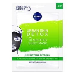 Nivea Mască Șervețel Față Urban Skin1Buc