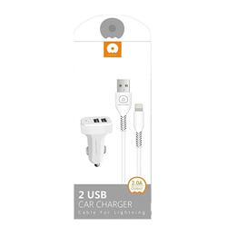 Încărcător Auto 2 x USB Iphone 5/6/7/8/X image