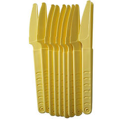 Set 10 Cuțite Plastic Colorate