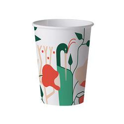 Set 25 Pahare Carton Biodegradabil 0,24L