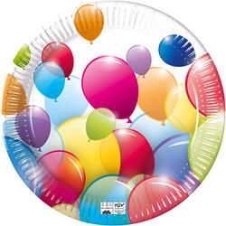 Set 8 Farfurii Carton Baloane